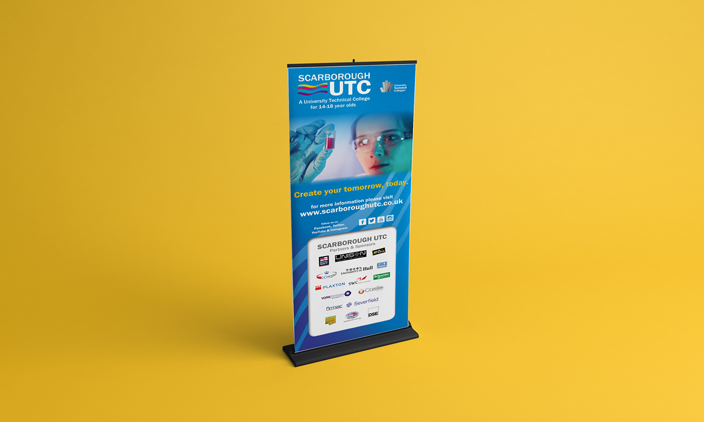 Marketing Materials - Scarborough UTC 2015-16 on Behance