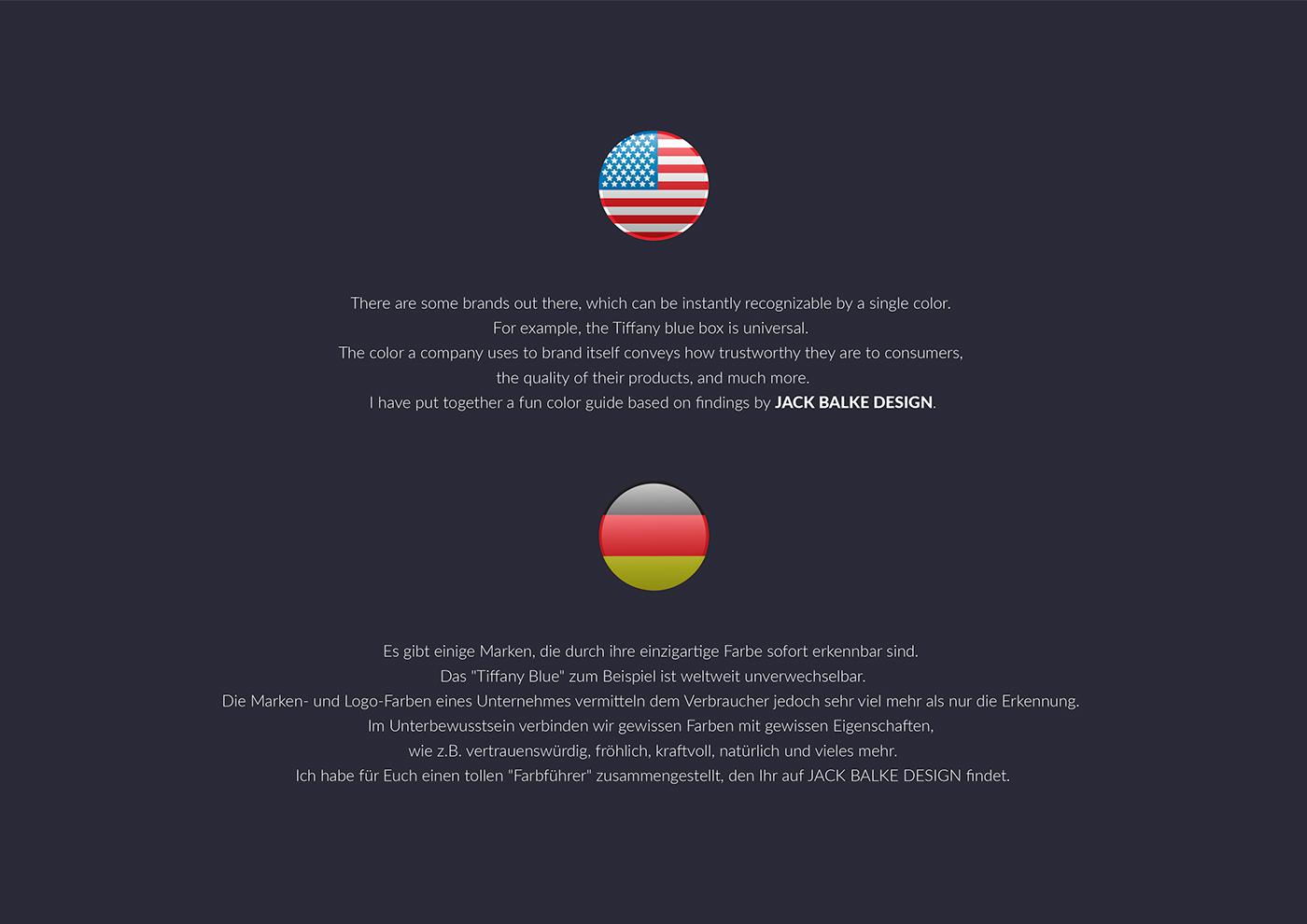 Künstlerische Leitung, Infographic Color Psychology on Behance