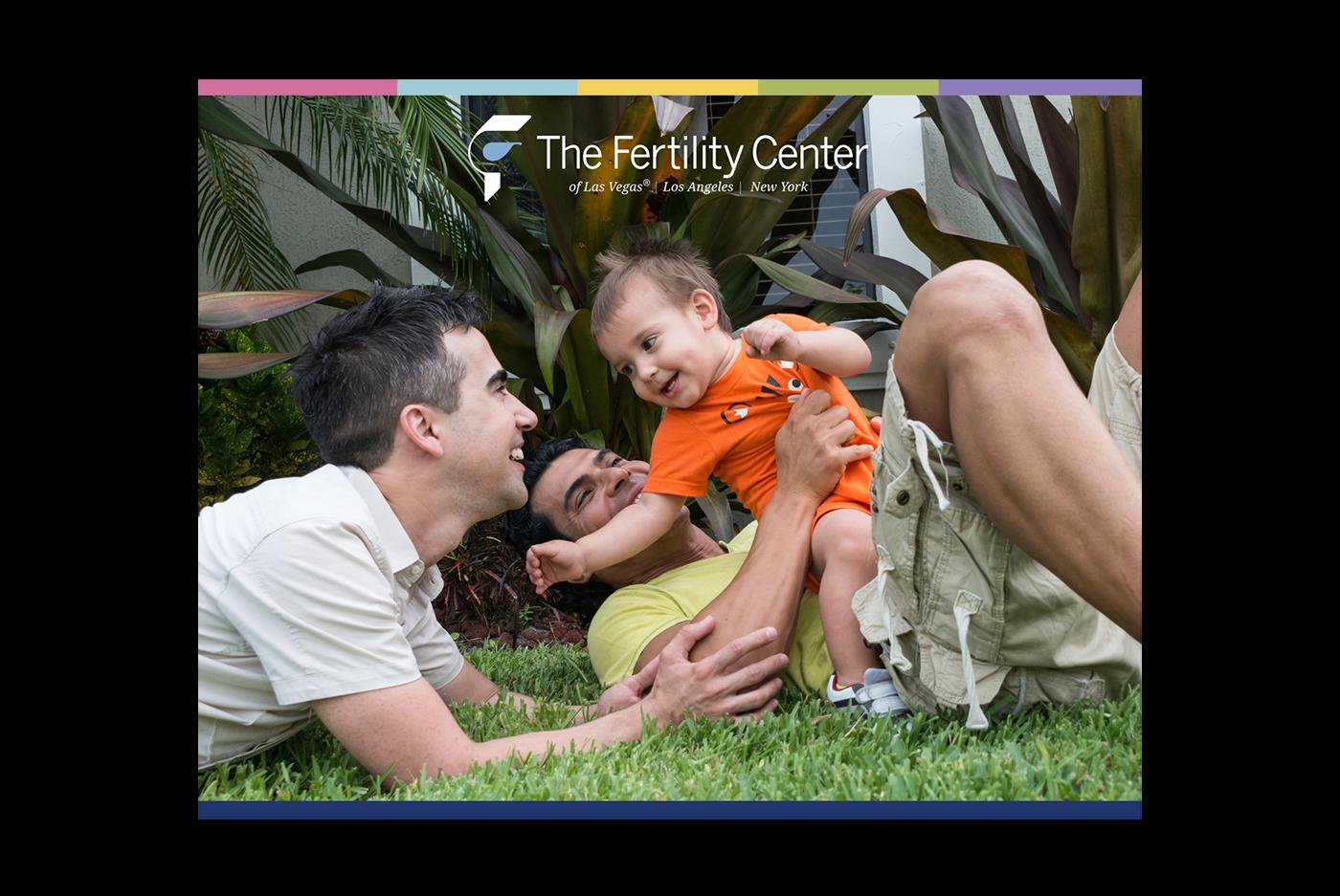 Andre Luis Santos graphic design  Fertility Center medical design Las Vegas Trade Show booth