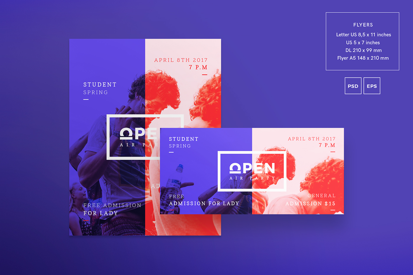 open party free download design templates on behance