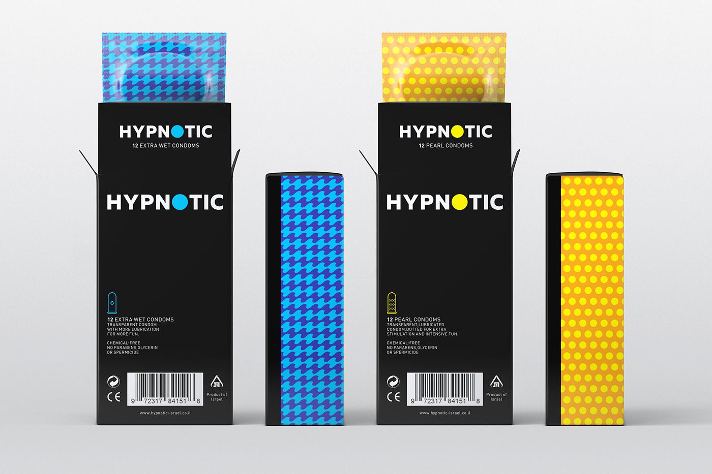 Hypnotic condoms on Behance