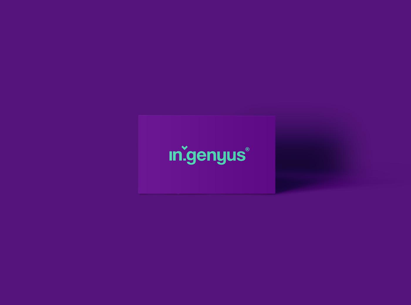 igenious science scientific marketing   creative Playful colorful Liquid identity digital