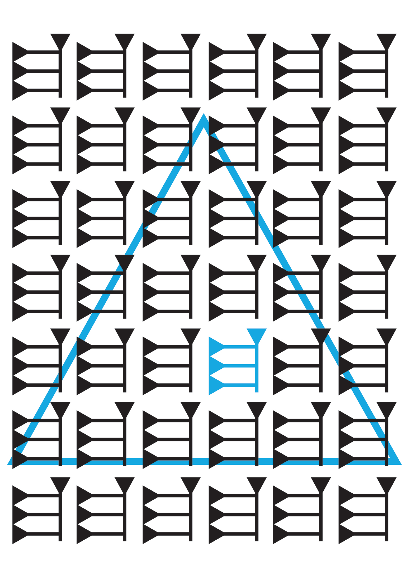 alphabet typografie titulus studying graphic design  poster University letter m language