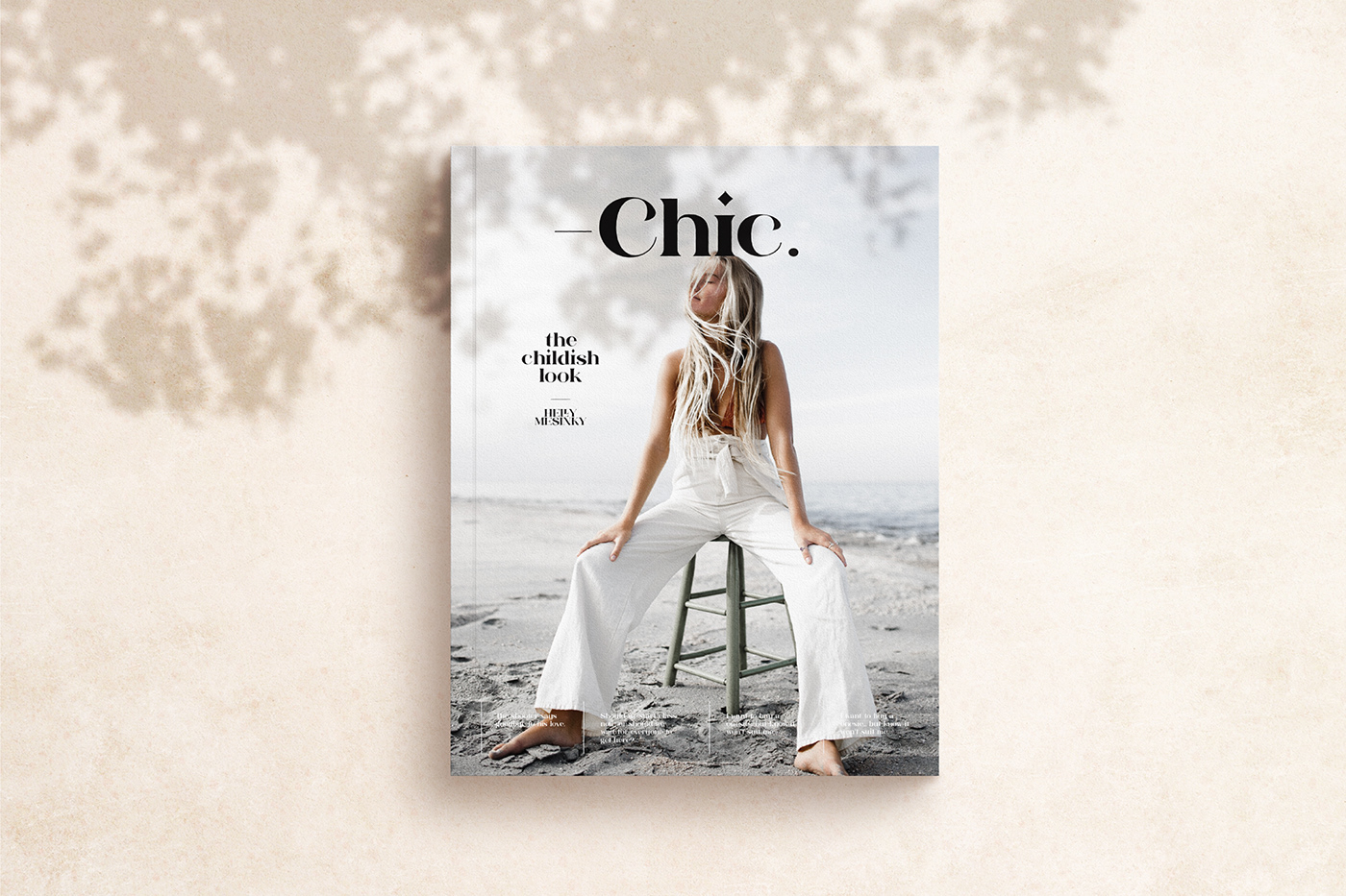 font serif modern chic fashionable chill relax logo branding
