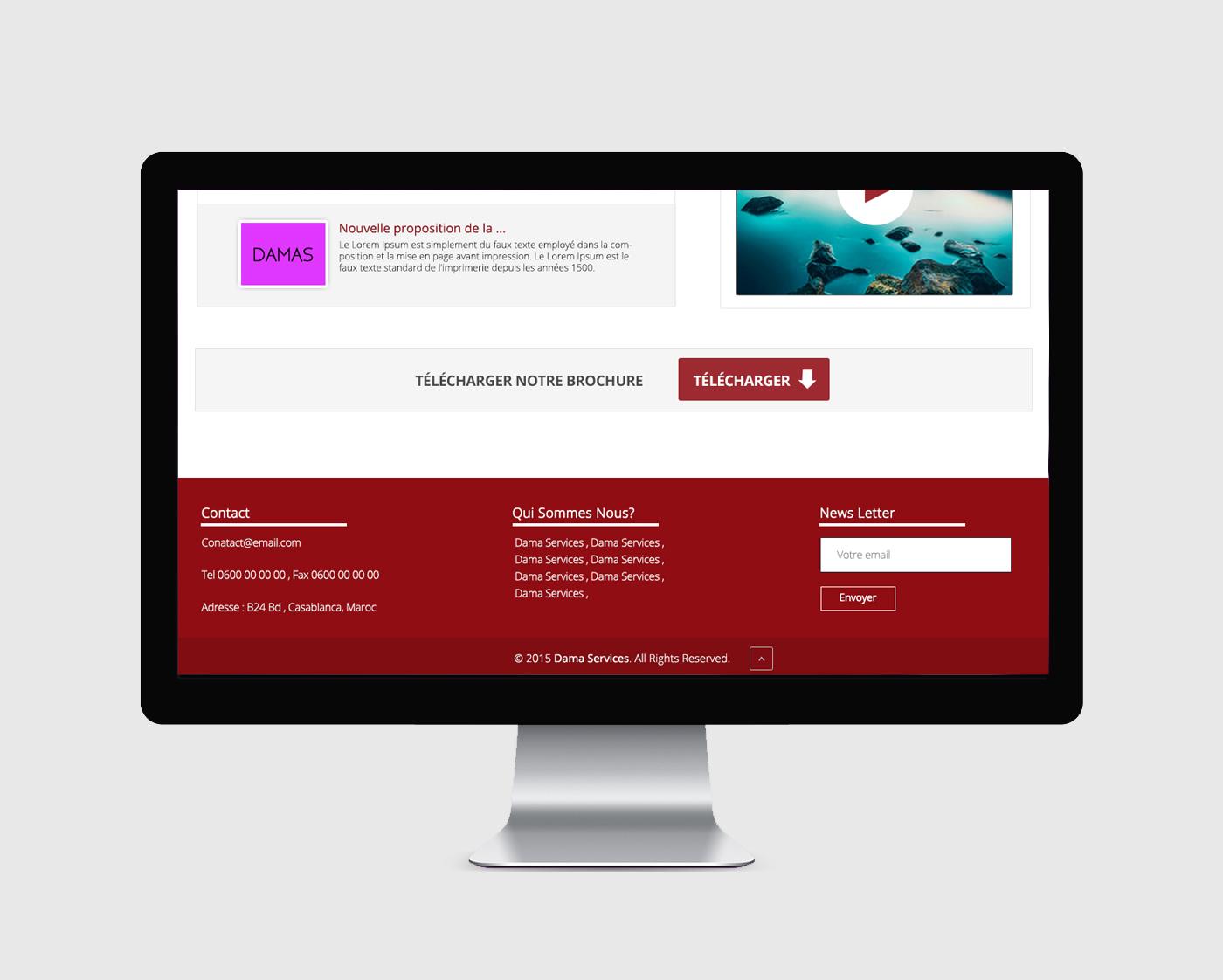 Dama Services Website