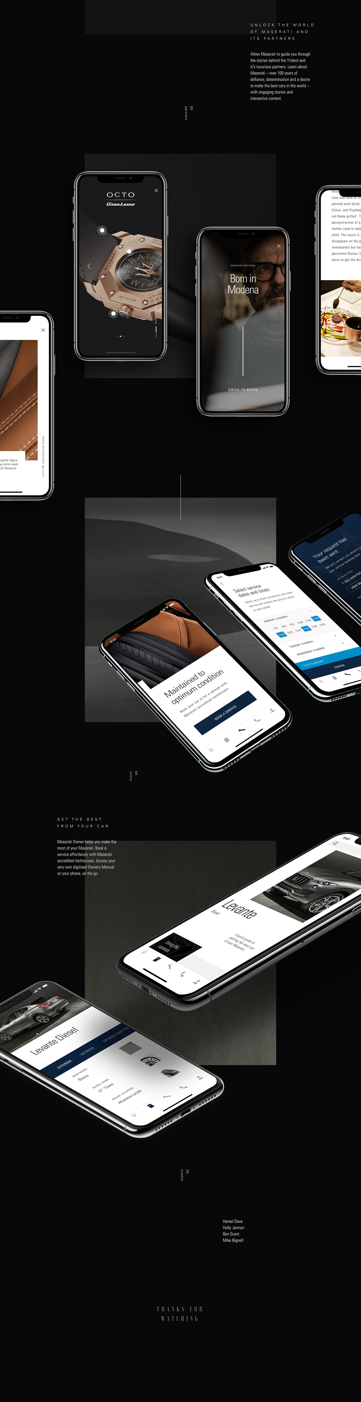 app automotive   car UI/UX automobile application ios design animation  interaction