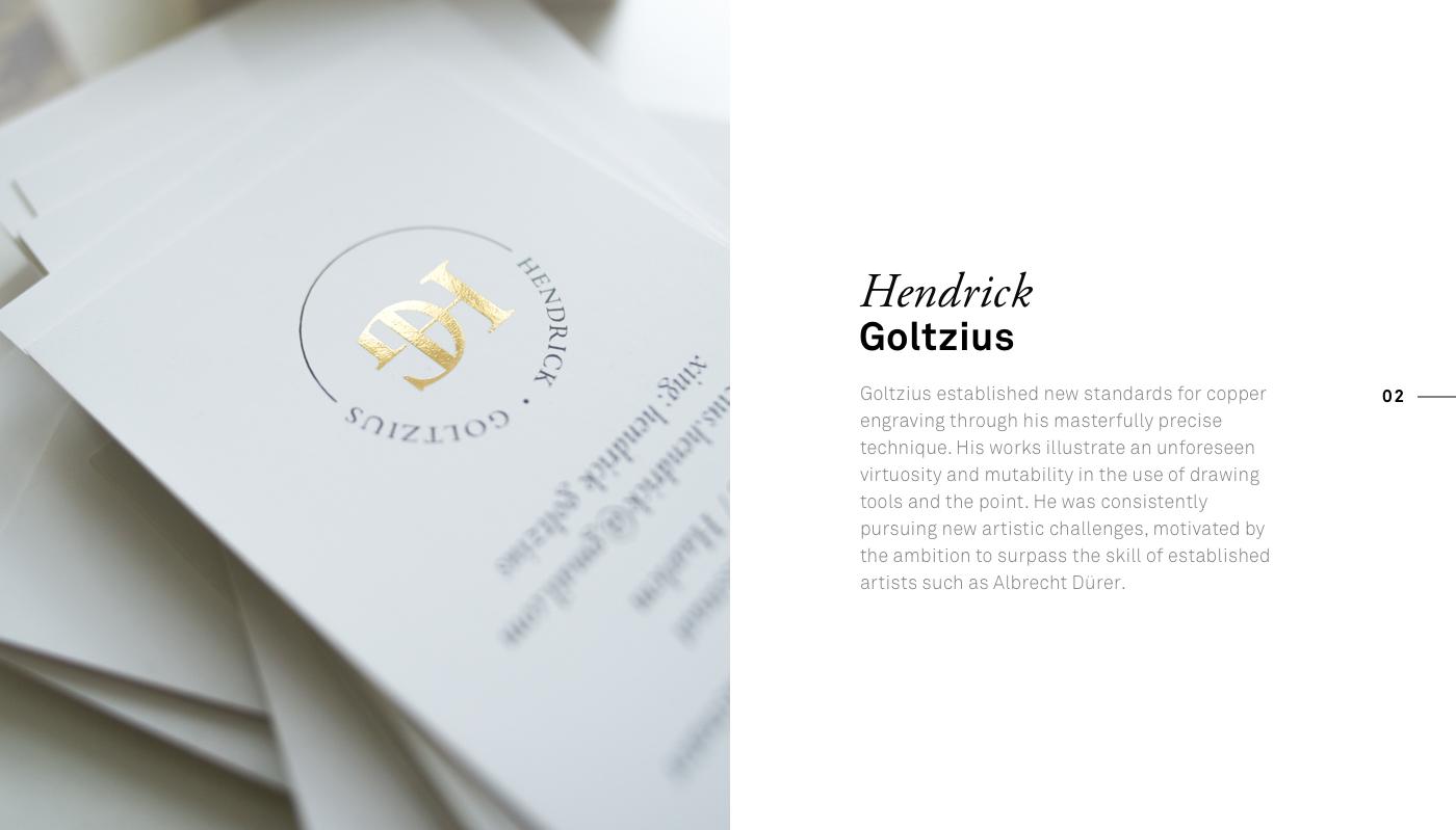 Corporate Design business card typography   Street Art  social media