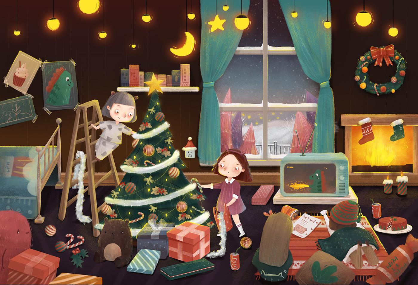 細緻的15套聖誕節圖畫欣賞