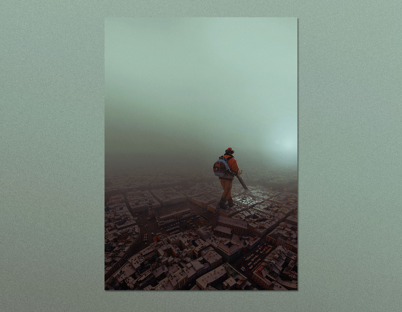 smog powietrze pył krakow air cracow mgła fog SuperHero zanieczyszczenie
