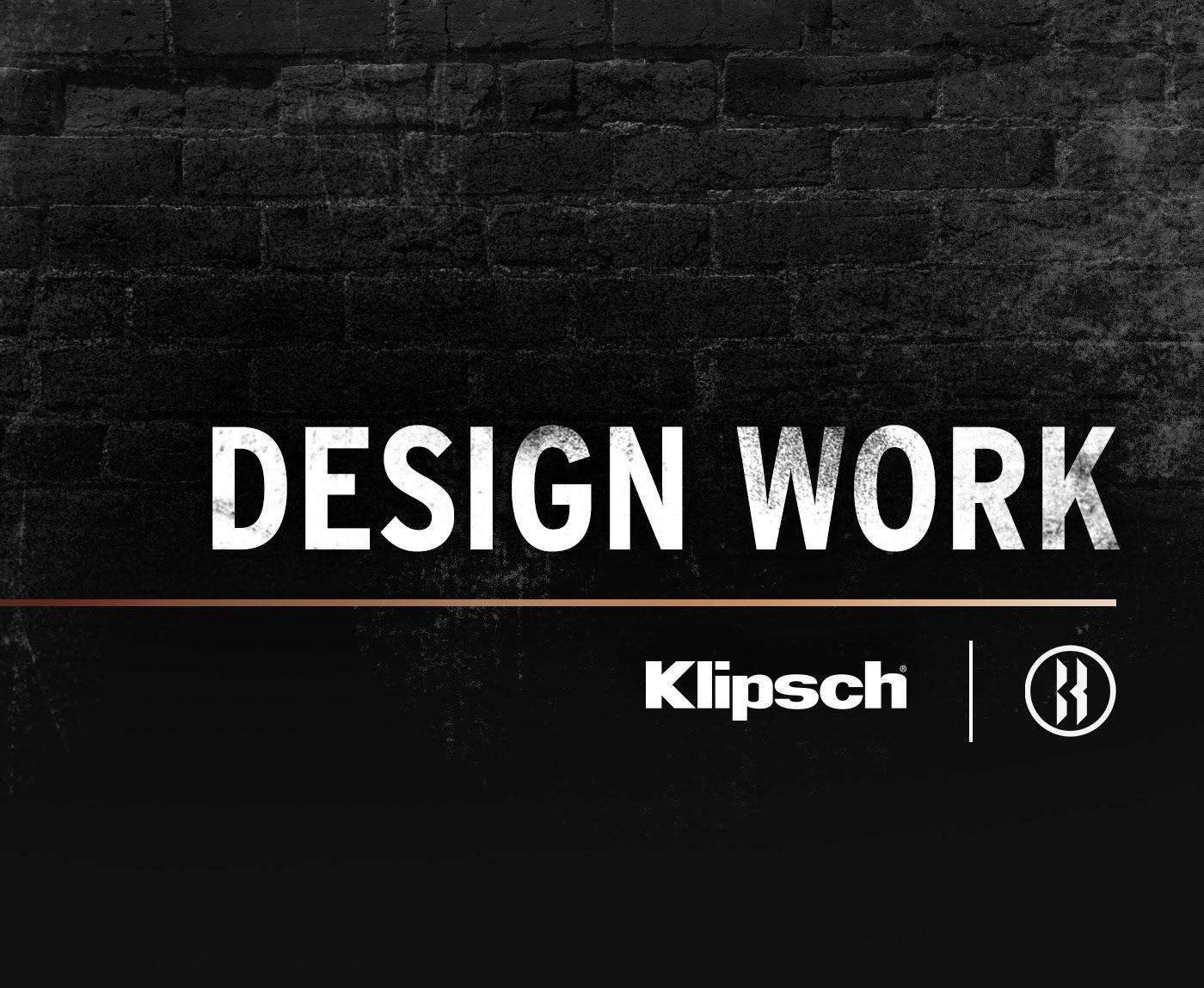 Klipsch speakers Audio advertisements Photography  graphic design  Photo Manipulation  photo compositing headphones grunge