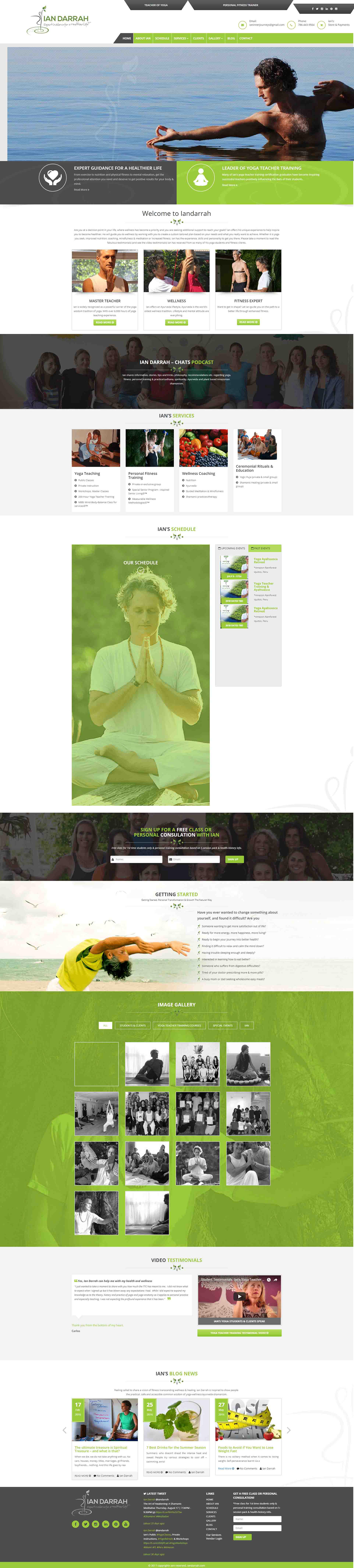 health template Yoga Template Yoga Leader trainer template Yoga Training Template landing page Fitness expert template Fitness website design ui design UX design