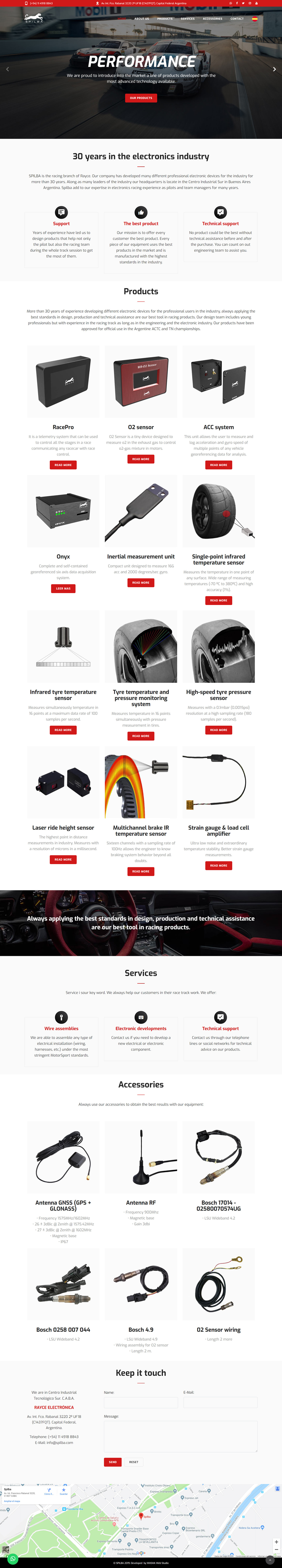 intelligent electronic Racing spilba