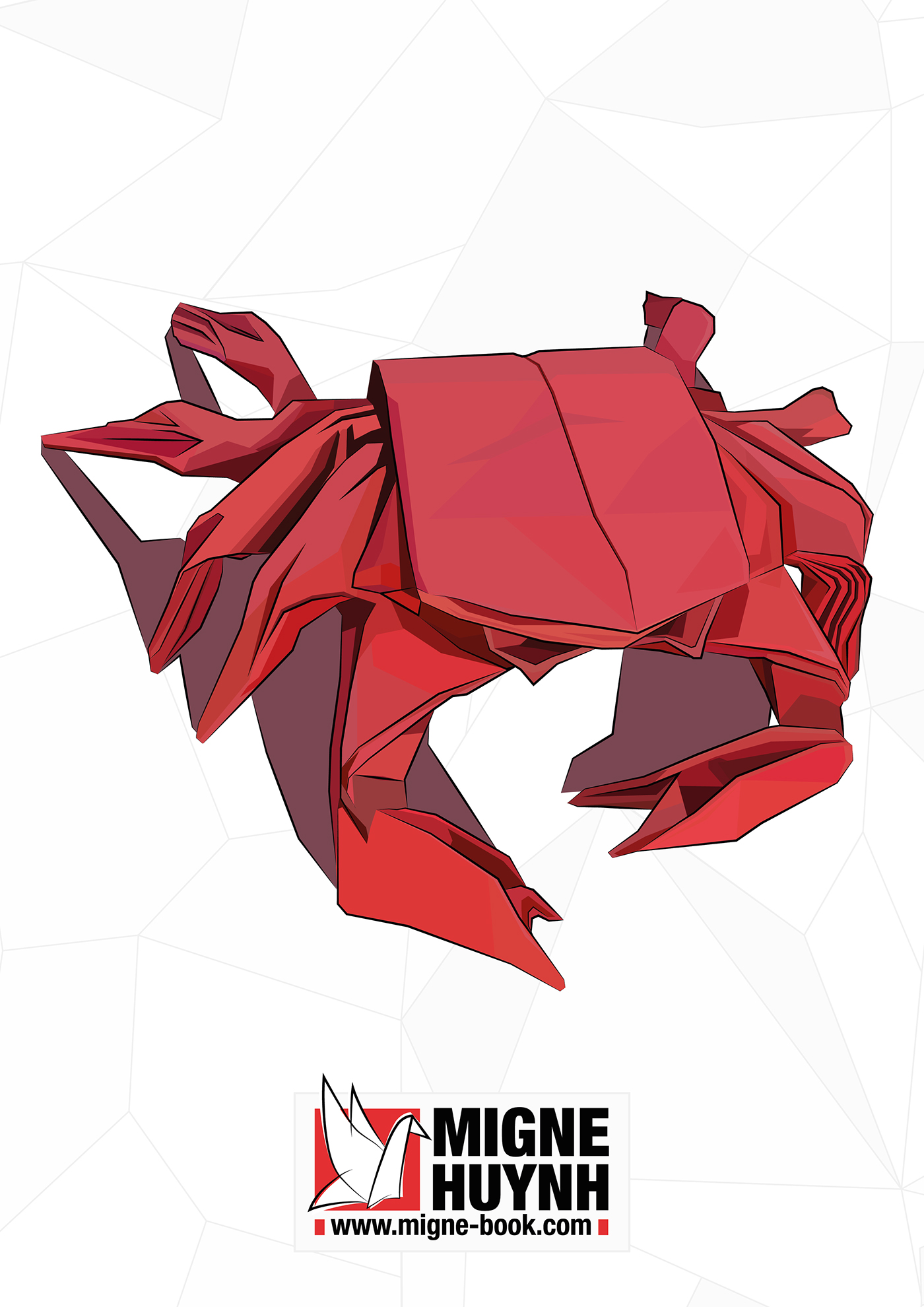 Derek McGann's Origami - Alaskan King Crab   1980x1400
