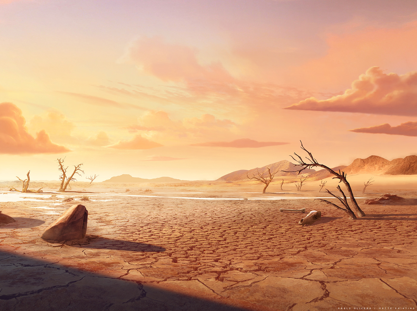 Lil Dicky earth concept art Matte Painting art background wacom world wild Love
