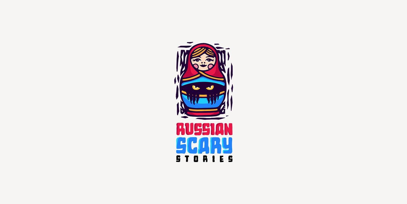 art branding  business Collection design fantasy identity logo modern vintage