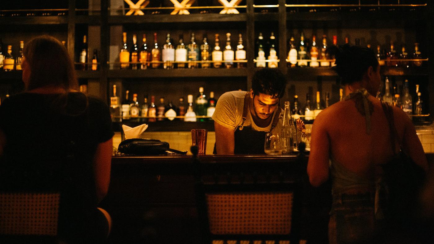 branding  brand identity menu design speakeasy bar restaurant graphic design  1920's craft cocktail cocktail menu