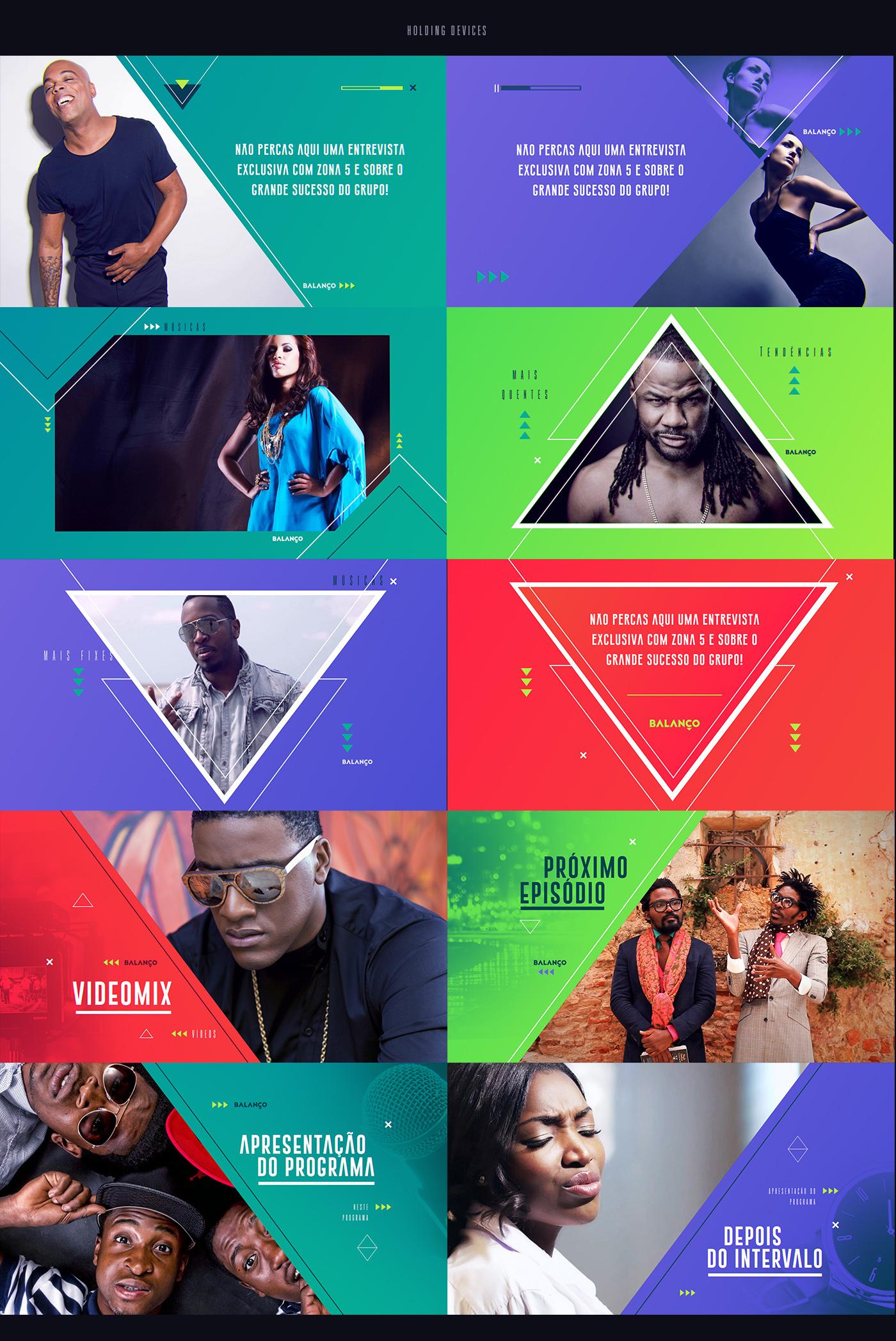 hip hop jango angola kizomba Kidoro bright Colourful  Triangles