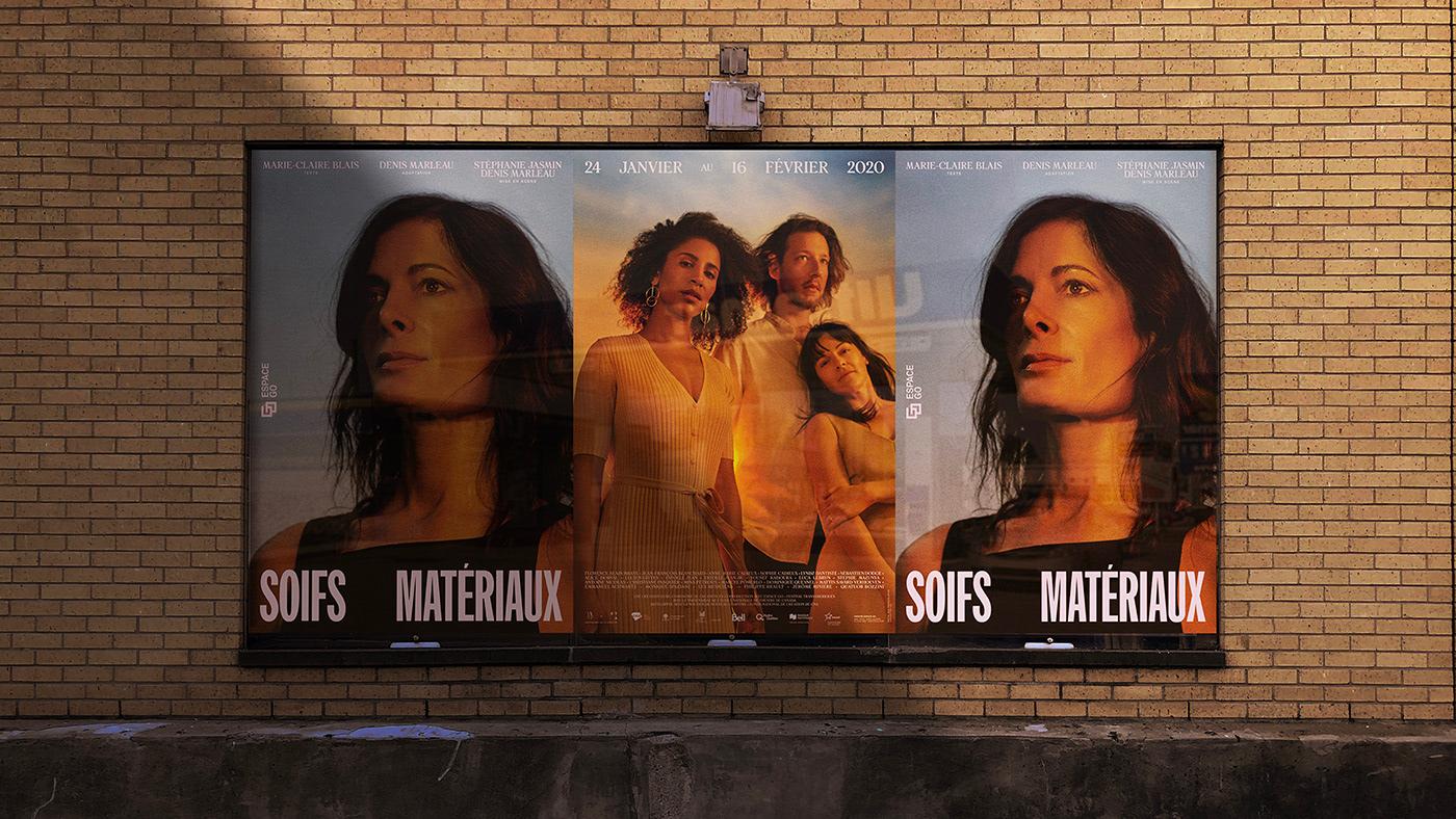 Theatre affiche design d'affiche poster Poster Design Affiche culturelle cultural poster color light