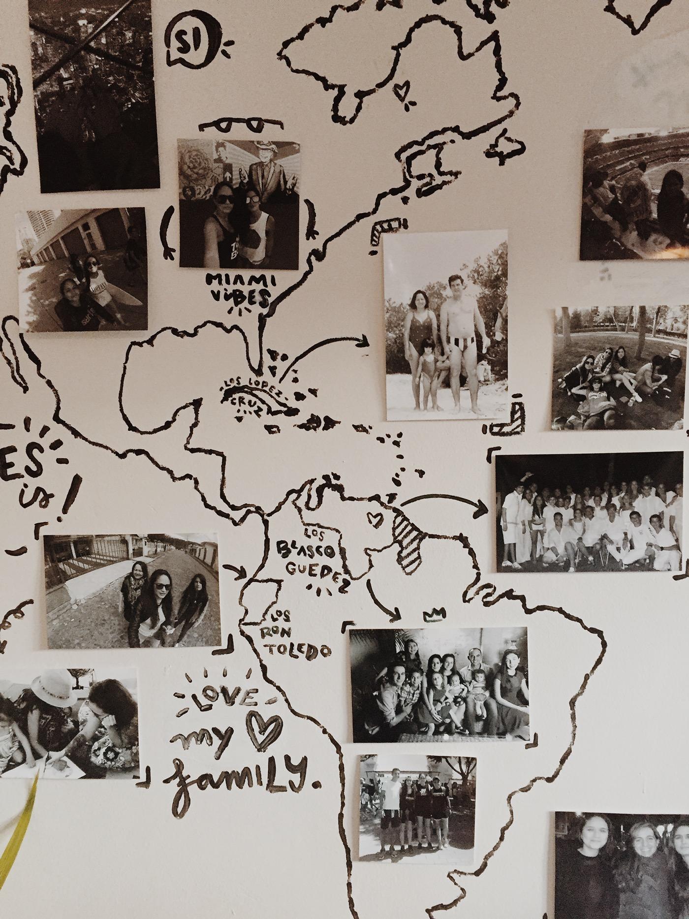 Mapa mundo Venezuela