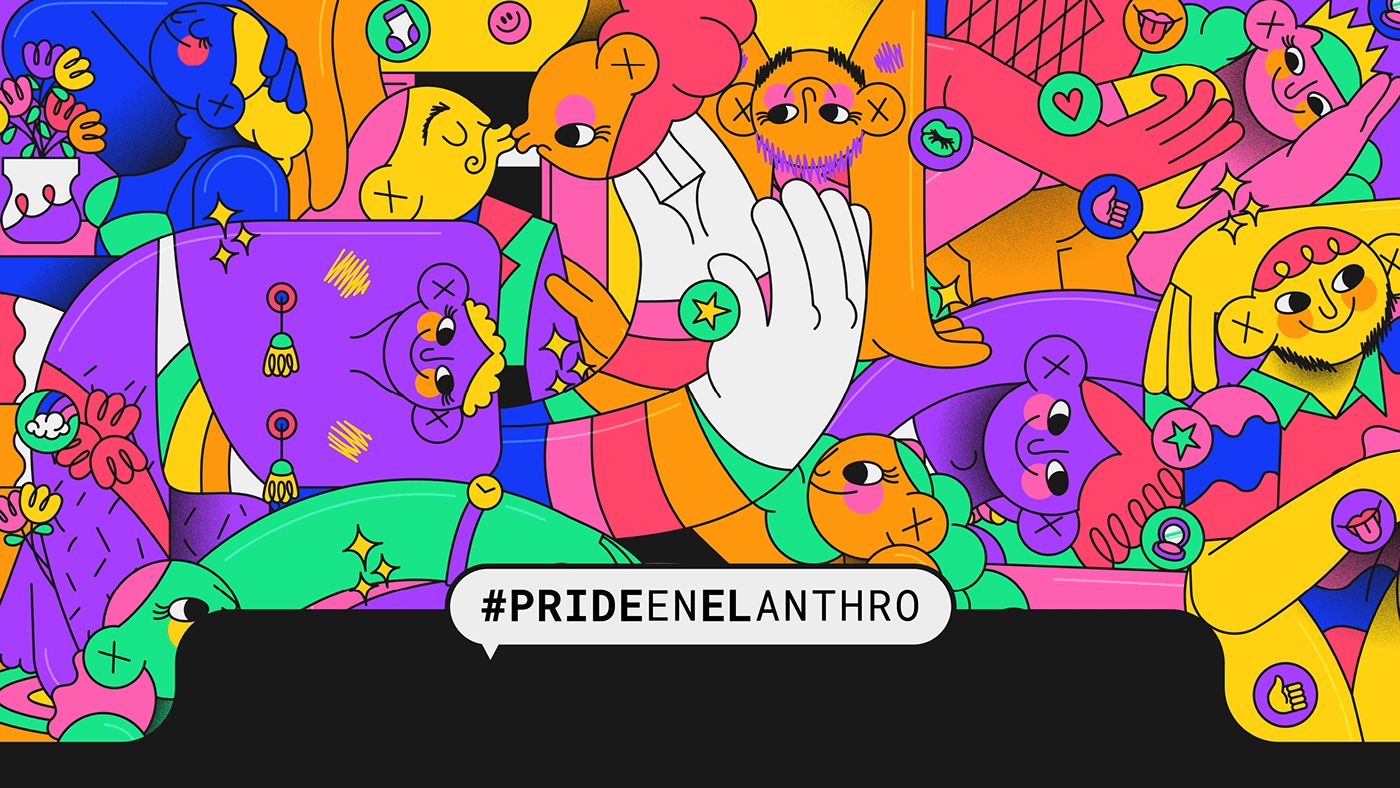 diseño gráfico graphic design  ILLUSTRATION  ilustracion LGBT LGTB orgullo pride