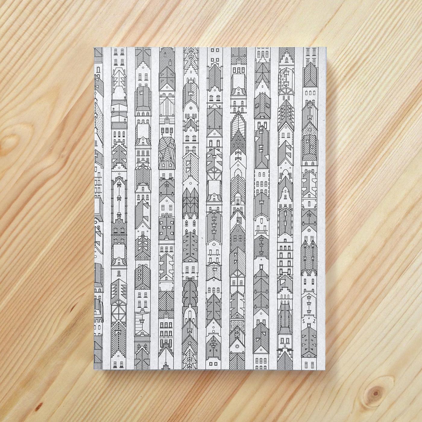 Notebook Cover Art : Notebook series cover art on behance