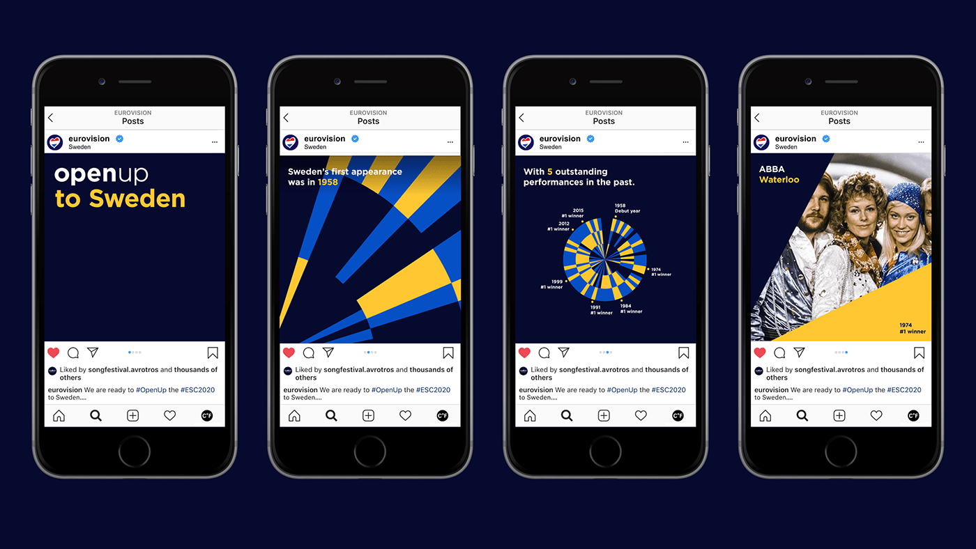 Eurovsion 2020 social post