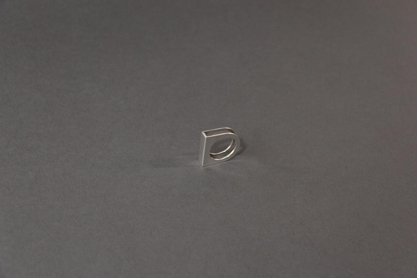 art bend craft goldsmithing handmade jewelry metal metalwork ring silver