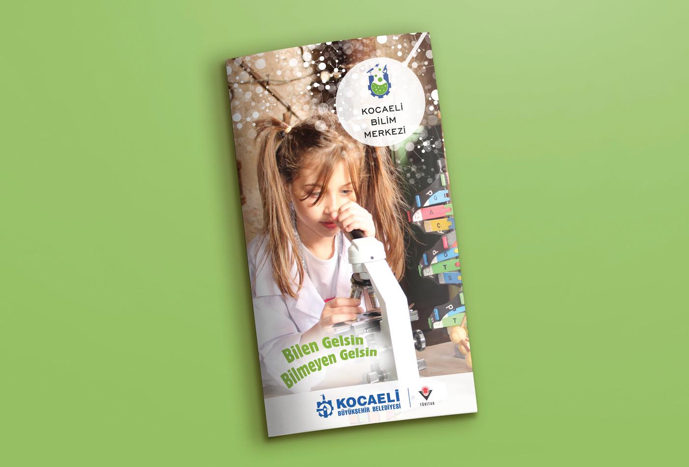 baskı Bilim Merkezi broşür katalog KBB ofset tanıtım tasarım