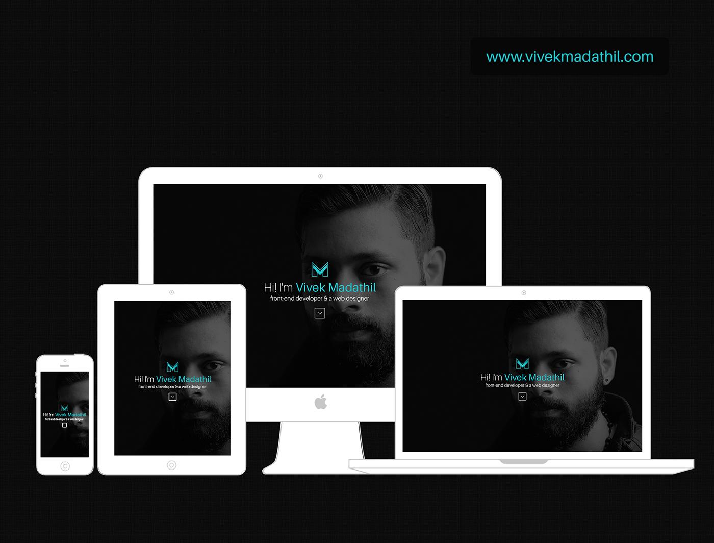 my portfolio css HTML CSSWINNER NOMINEE design jquery Responsive