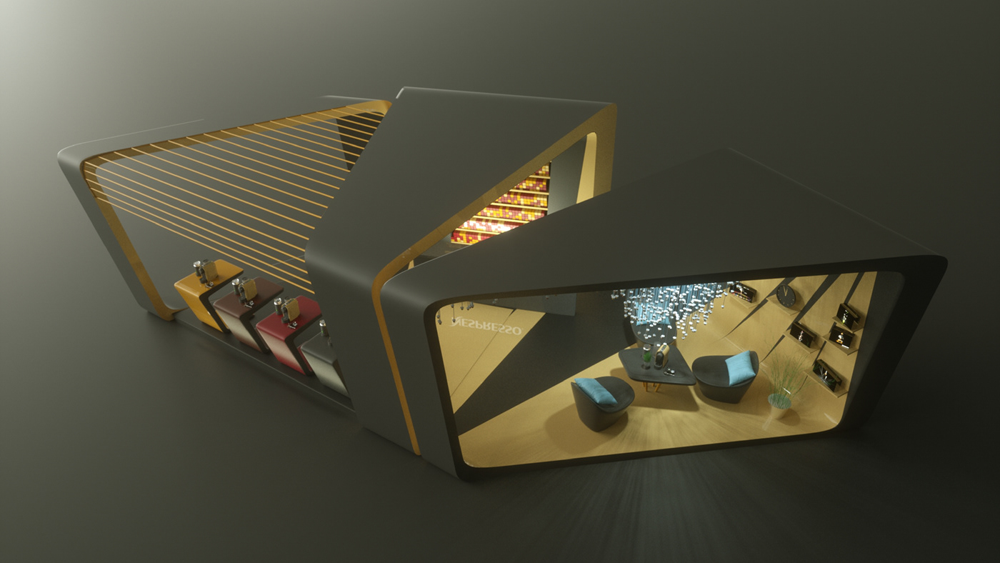 stand design Event Design Exhibition Design  3D Rendering 3d design