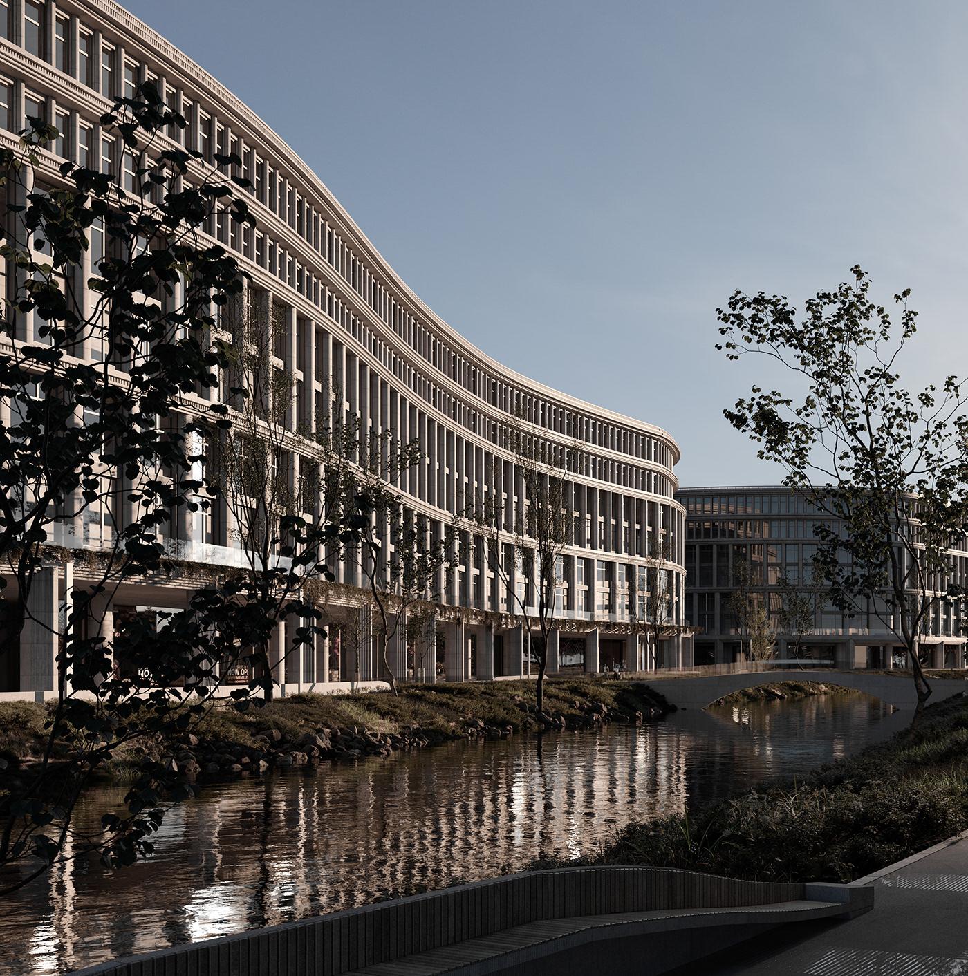 3dsmax appartmentbuilding architecture archviz concept coronarenderer Render visualisation