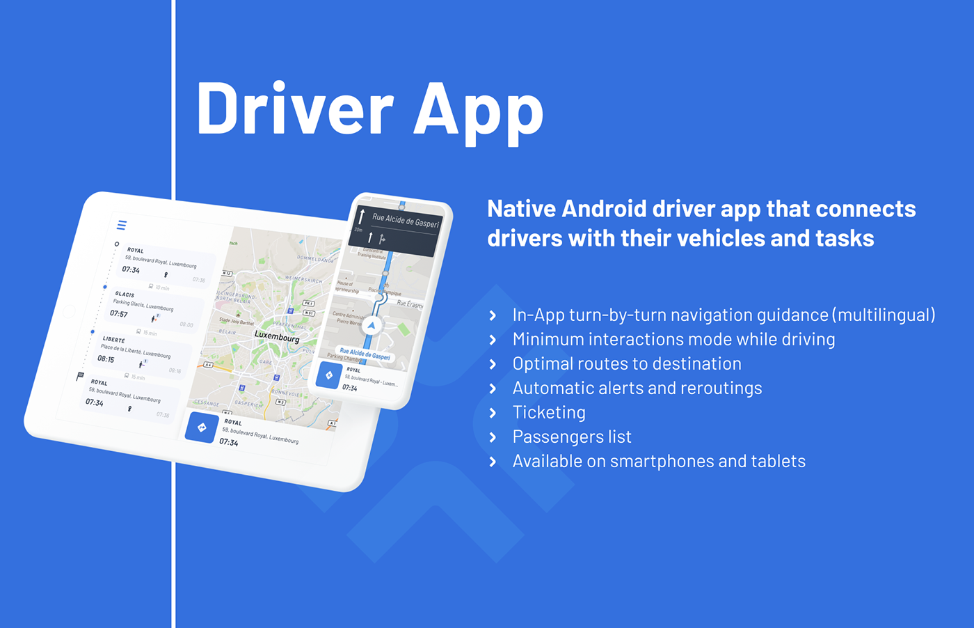 UFT Driver App - Native Andoid Driver App that connects drivers with their vehicles and tasks