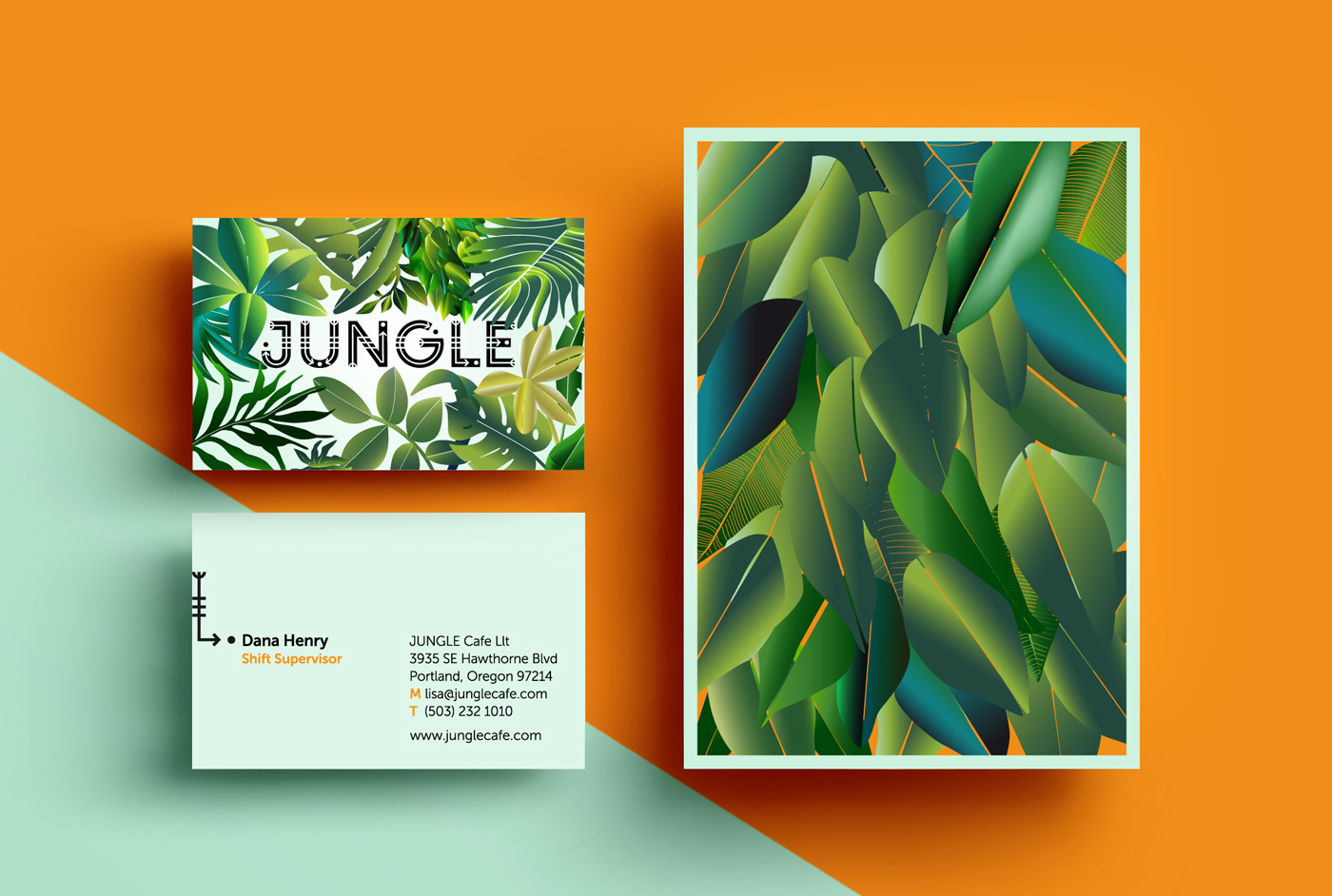 JUNGLE by Sarah Dornieden