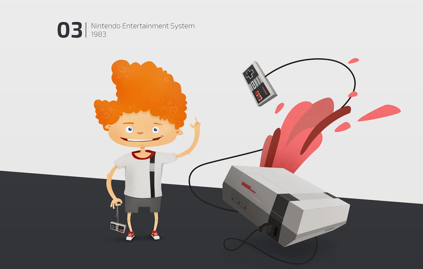 Games Gaming Character atari Nintendo playstation odyssey Superlevel Retro