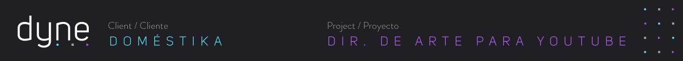 Dyne chile generador de contenidos diseño graphi package motion design broadcasting Content Creator screencast training