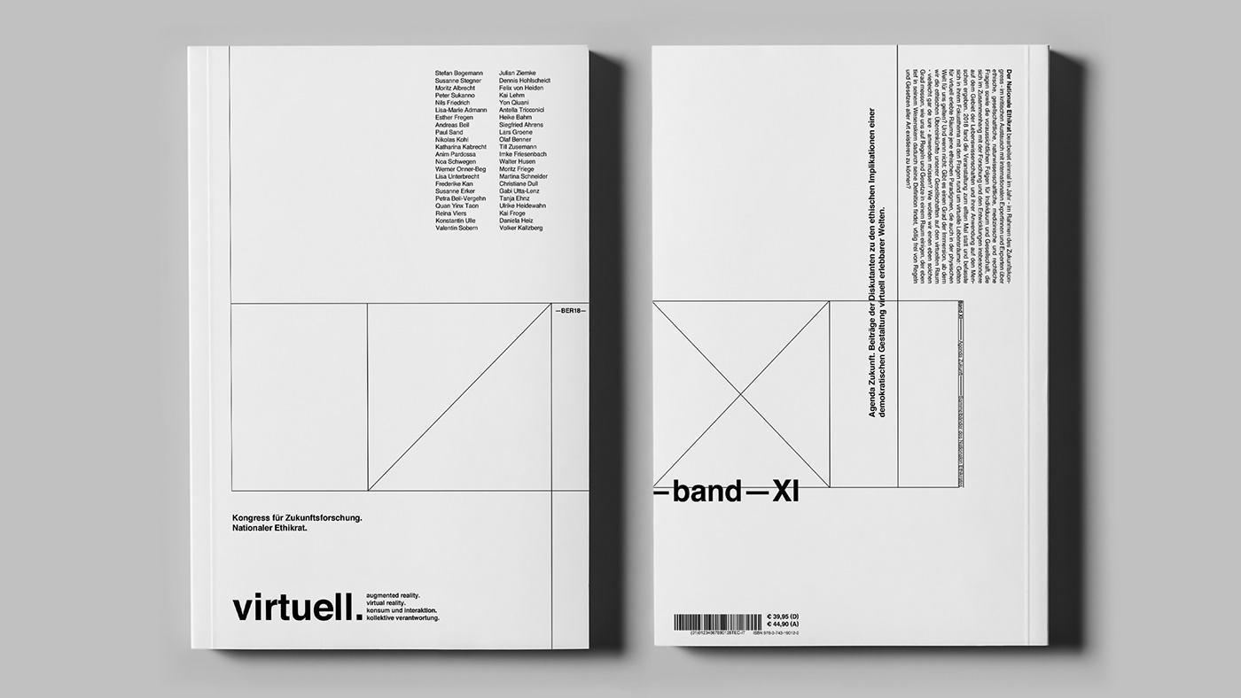 anthology for virtuell. – Zukunftskongress // on Behance