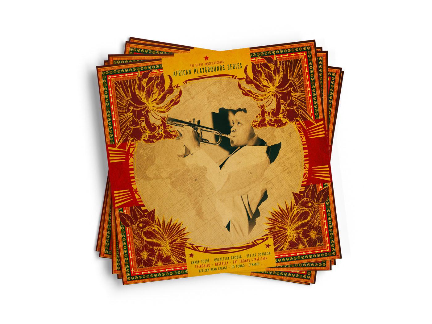 vinyle cover  artwork Musique Album afrique