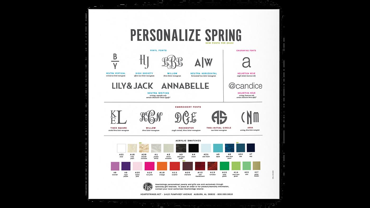 Heartstrings Spring 2015 Catalog on Behance