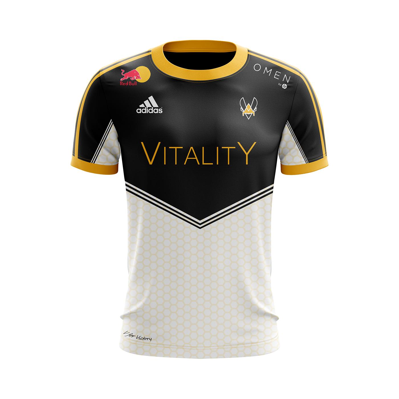 Concept On Team Vitality Jersey Behance tQrshdC