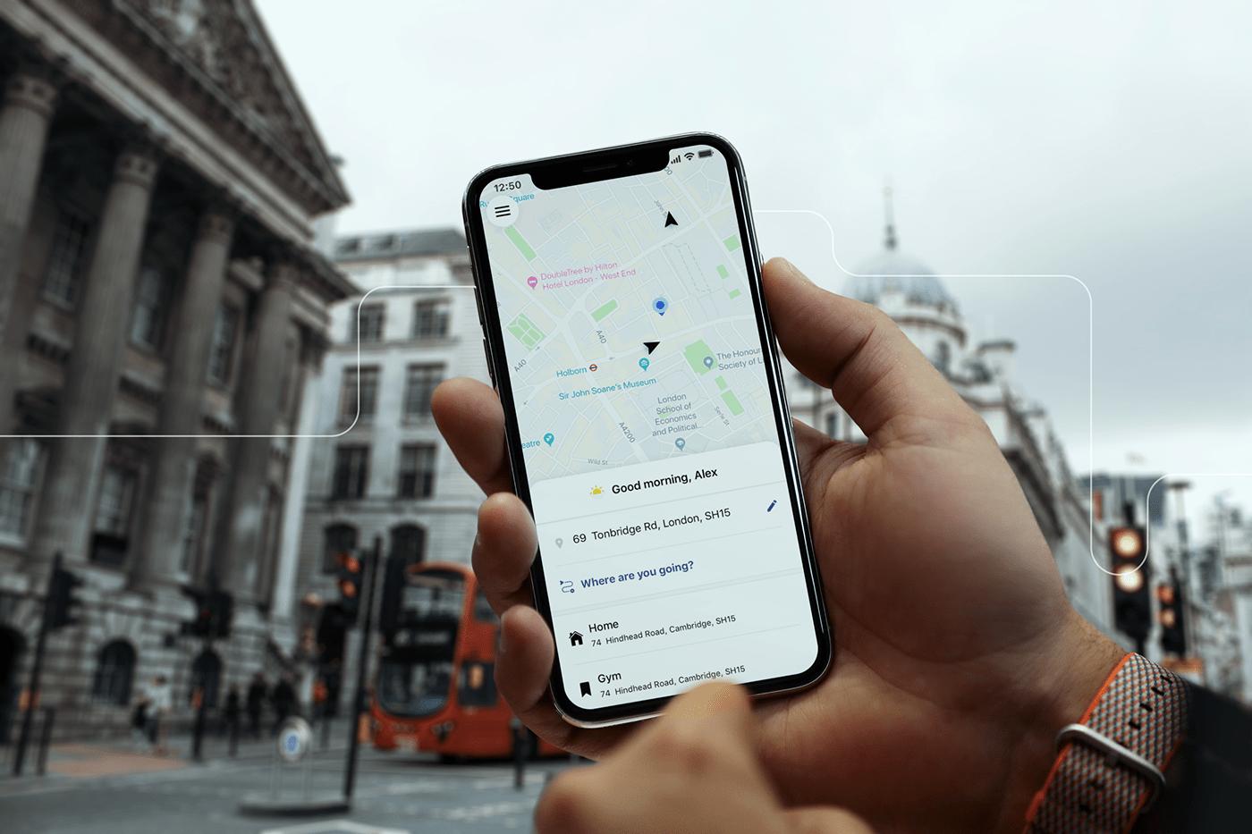 artkai automotive   CJM Mobile app mobile development product design  taxi taxi app UI ux