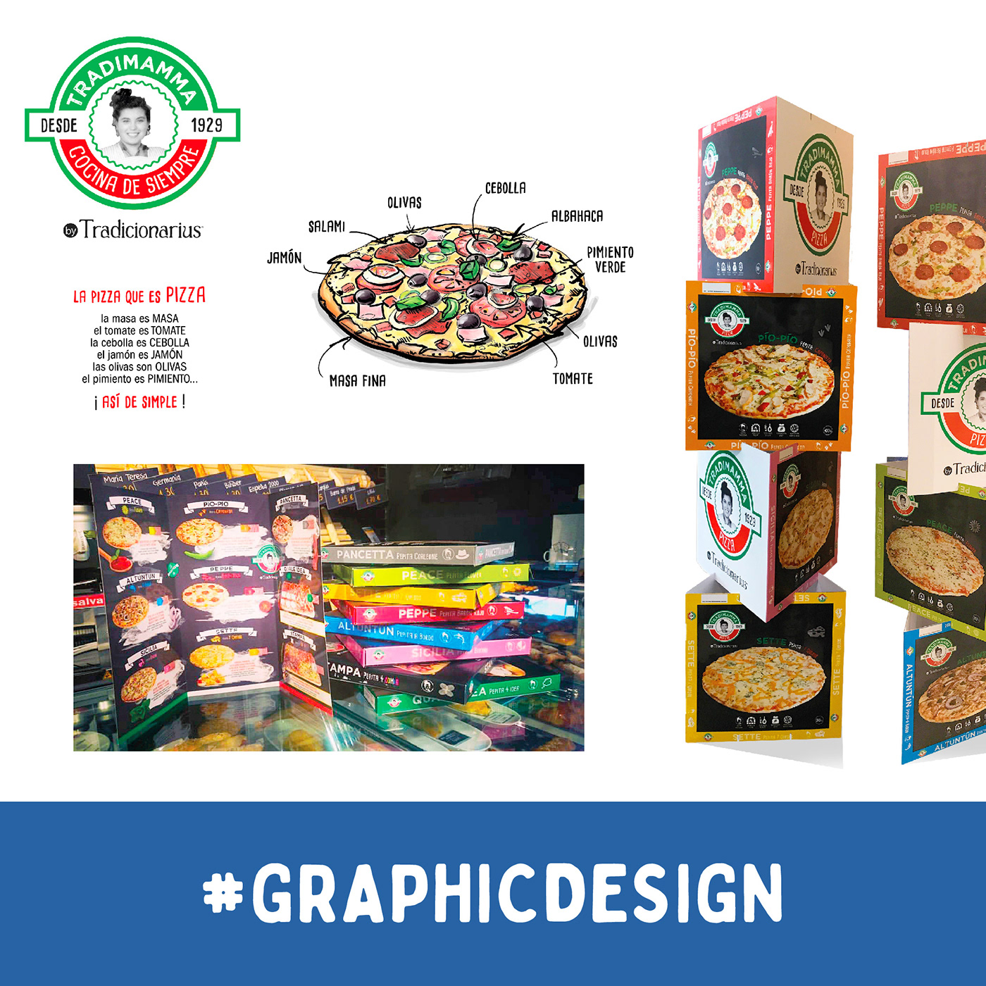 TradiMamma Pizza packaging