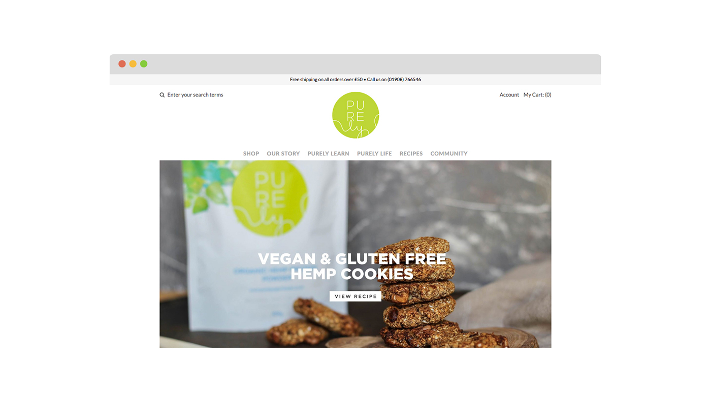 Website Design Shopify content creation brand strategy social media influencer pairing social vegan Photography  Food