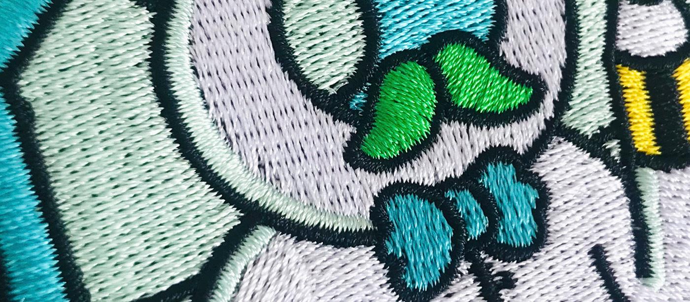 bordado Bordado Point Embroidery alta calidad publicidad ilustracion Diseño Textil