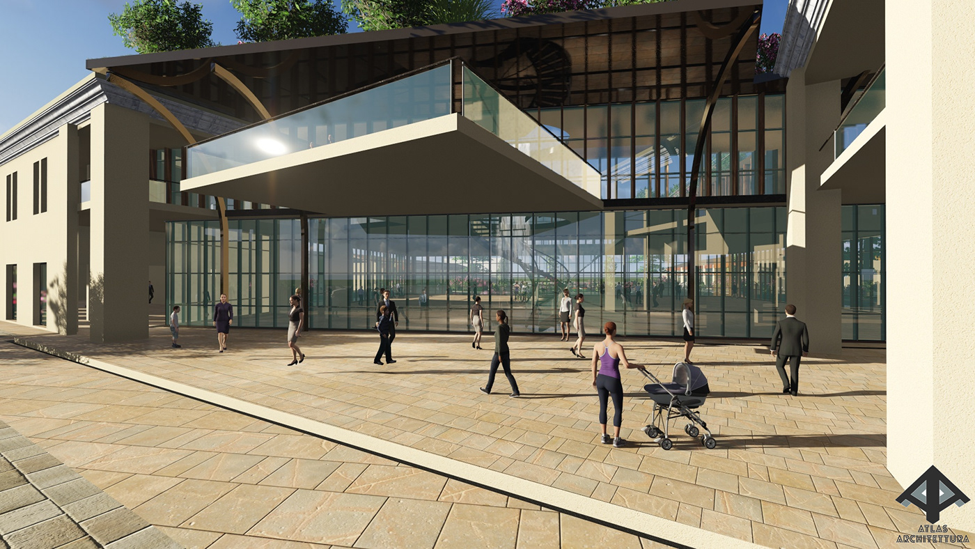 Shopping Mall Design On Behance