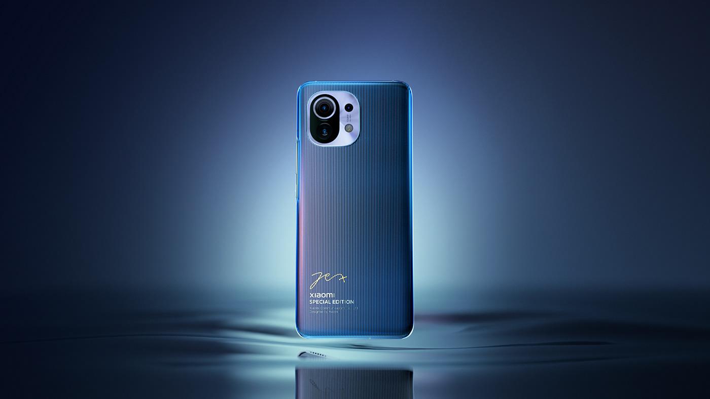 3D c4d motion octane phone