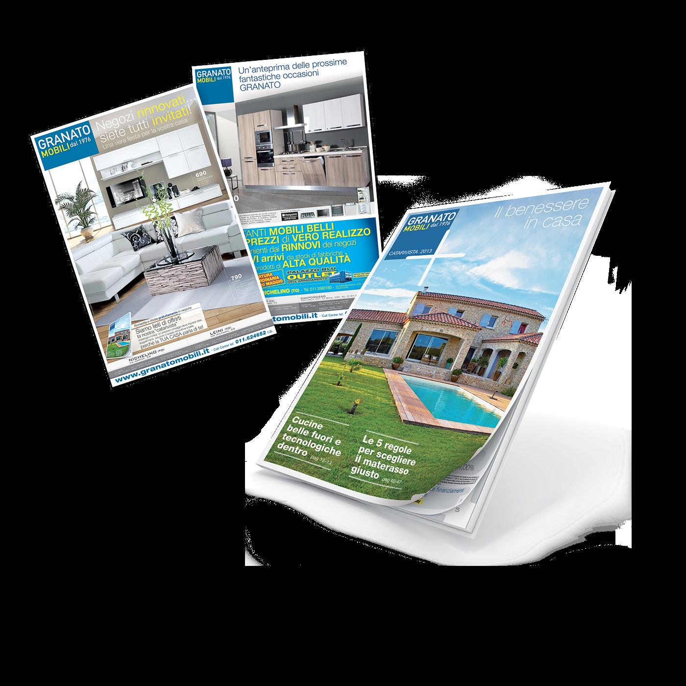 Granato mobili catalogo e flyer on behance - Granato mobili nichelino catalogo ...