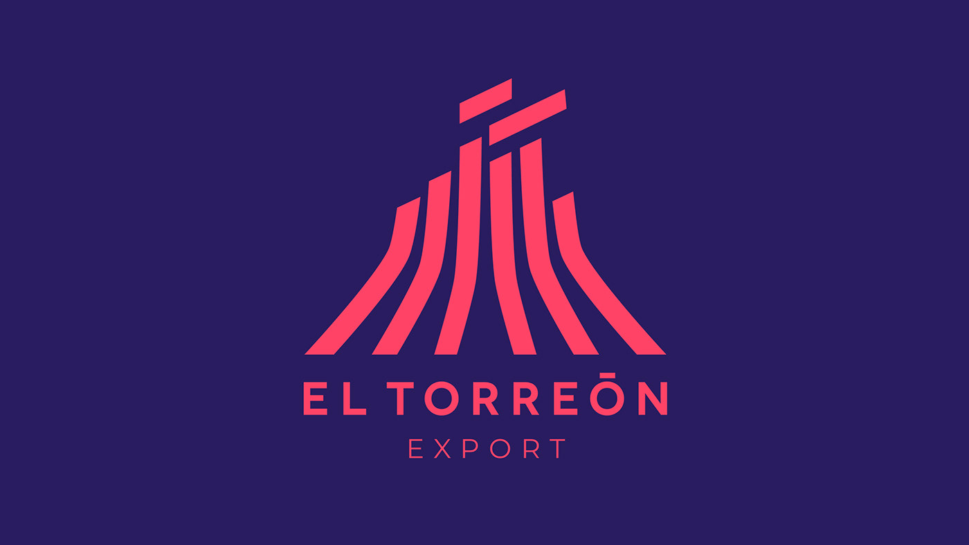Agro branding  chile design export ID torreon volcán volcano minimal