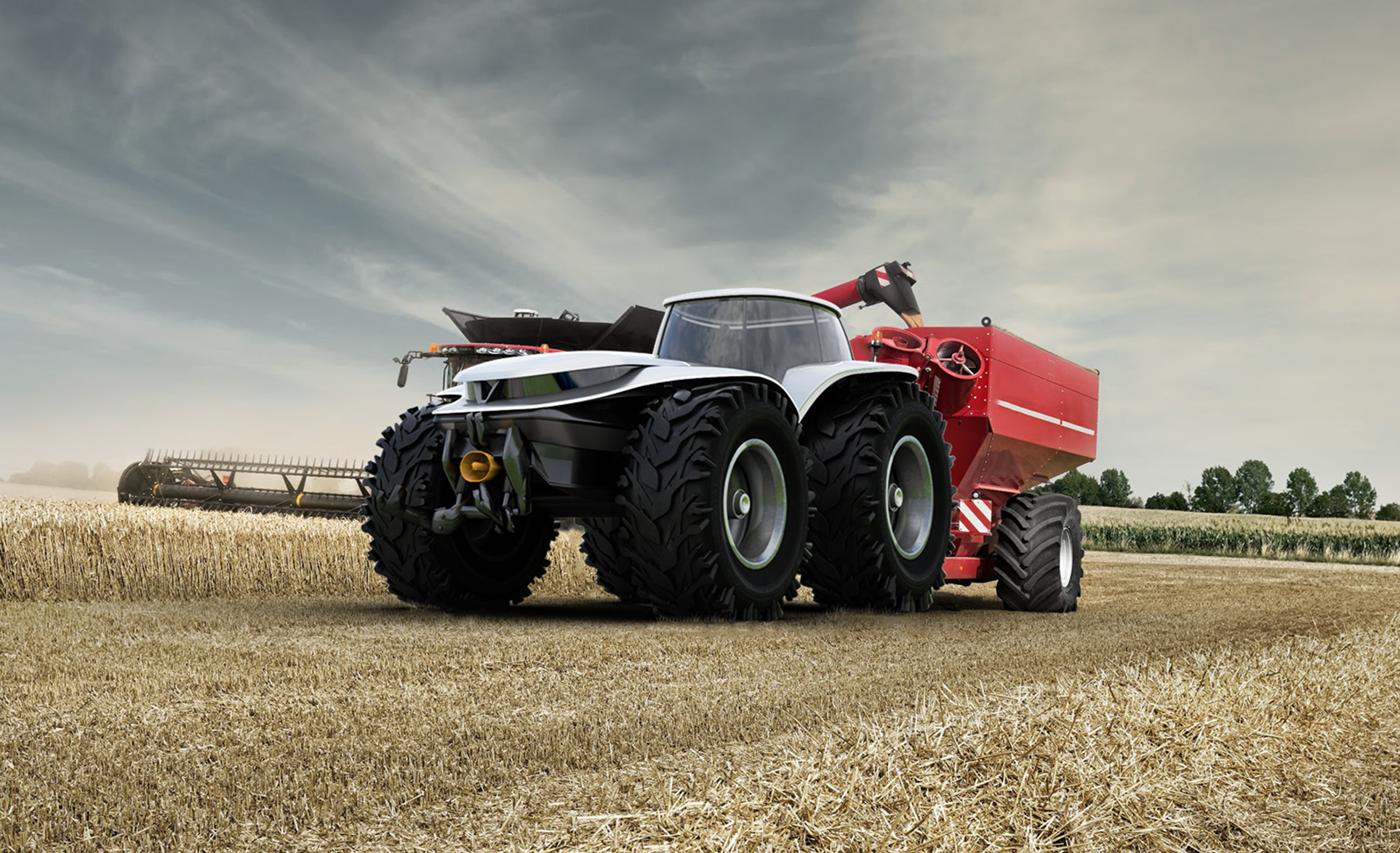 valtra design challenge Tractor farming concept Autonomous Alias industrial design