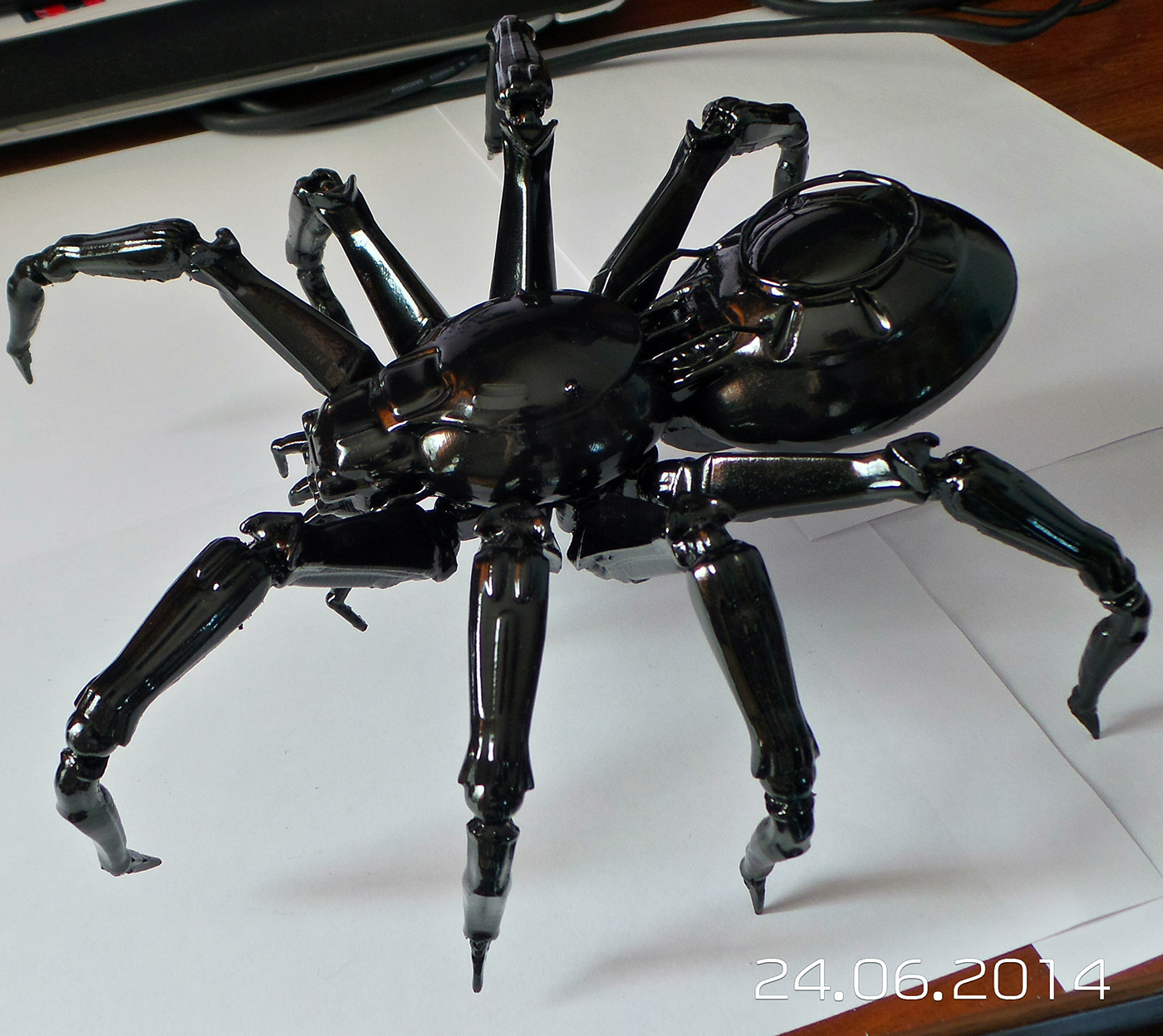 Spider Mech 3d Print On Behance
