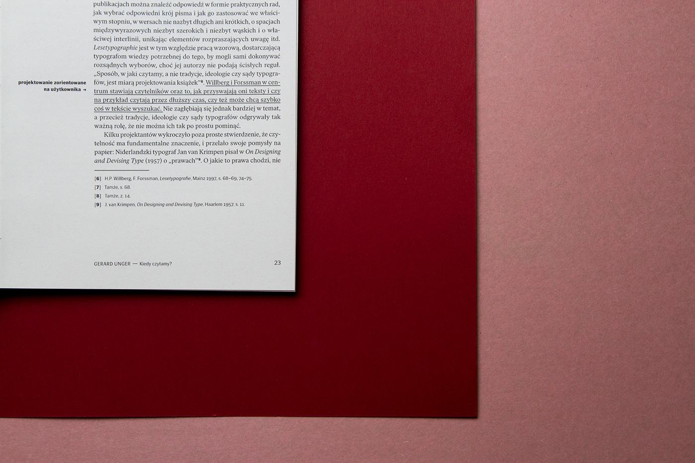 Beatrice Warde typography   legibility gerard unger Hans R. Bosshard Paul Stiff Ewa Repucho ASP w Katowicach Ethics readability